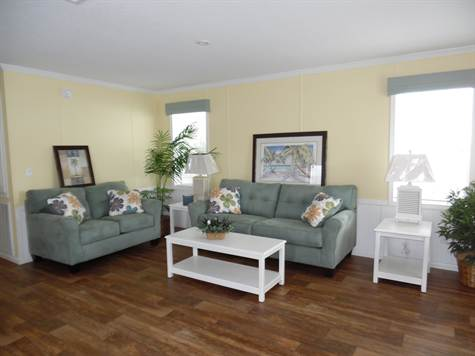 Zephyr Model Home Living Room
