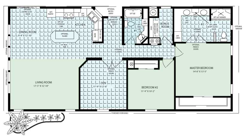 The Key Largo Floor Plan
