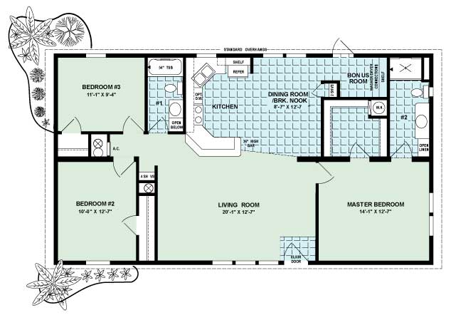 Magnolia Floor Plan