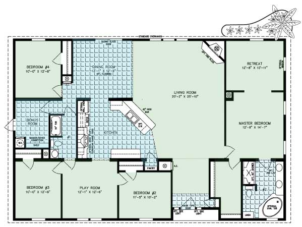 The San Antonio Floor Plan