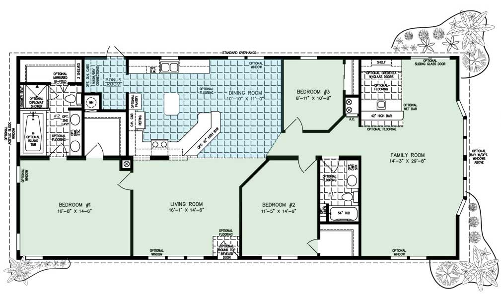 Floor Plan for The Clearwater