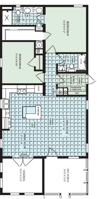 Zephyr Floor Plan
