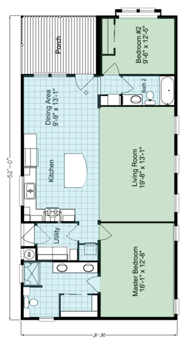 Summer Breeze Floor Plan