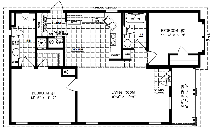 Floor Plan for IMP-6402A