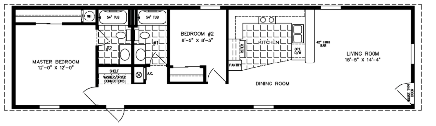 Floor Plan for ISWW-1601