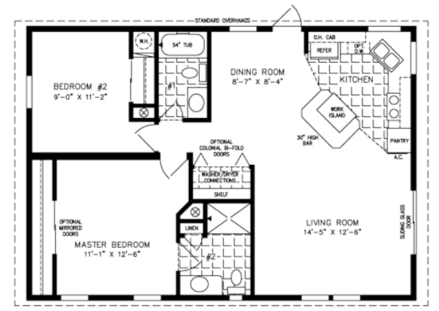 Floor Plan for TNR-3364