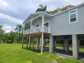 Manufactured Home on Stilts
