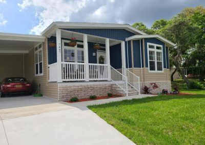 Manufactured Home Front